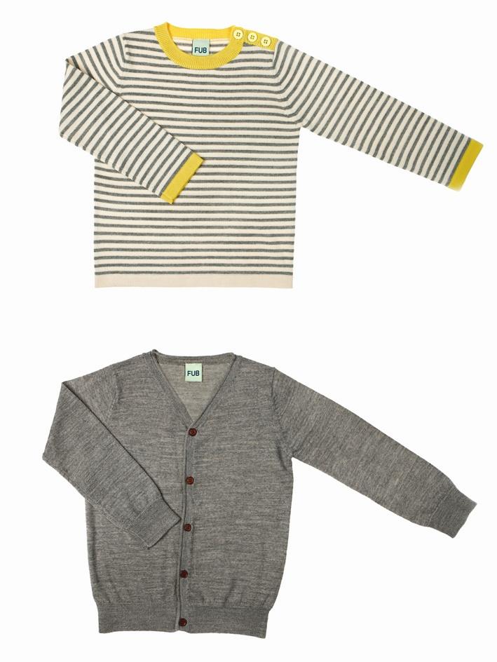0511 A-W thin sweater ecru-grey m-vert