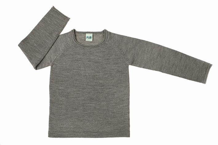 0611 A-W blouse grey m