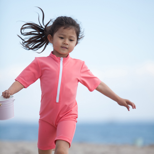 Coral bodysuit child