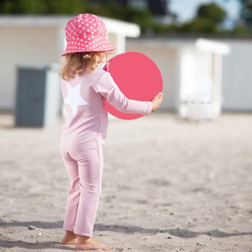 Dusty pink fullbodysuit child1