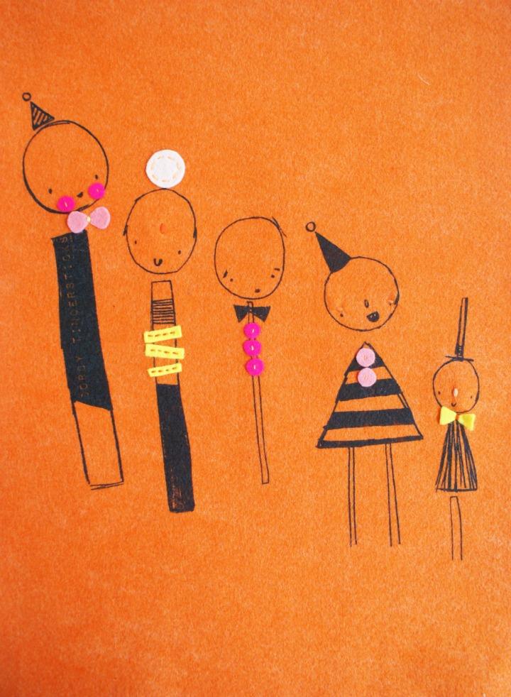 Orange 'line up'