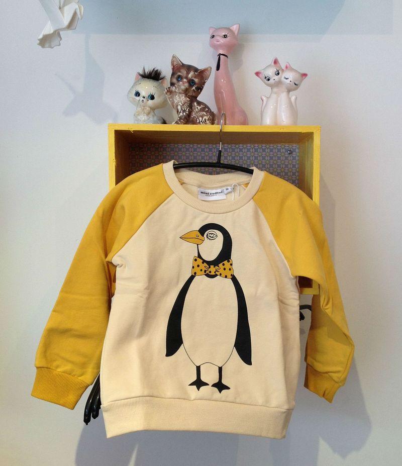 Mini rodini pingvin sweatshirt