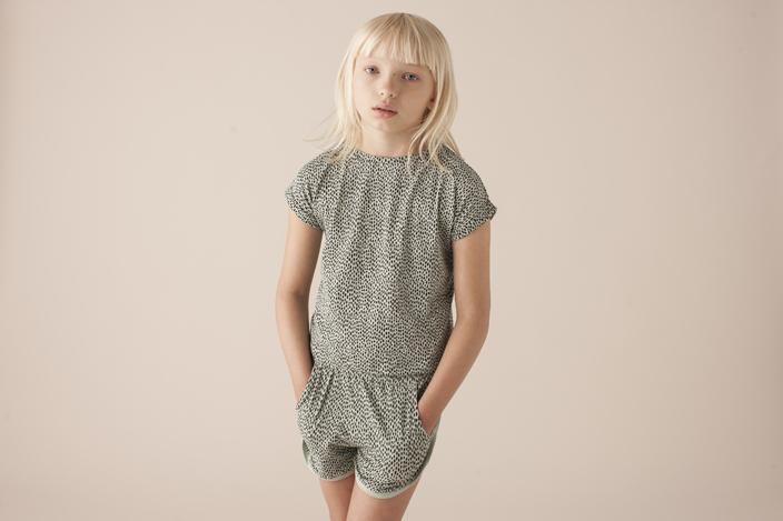 Soft gallery top og shorts